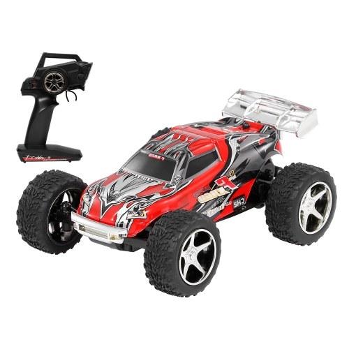 Wltoys 1/43 2.4G большой фут RC автомобиль 20 км / ч высокоскоростной RC багажник игрушки в подарок