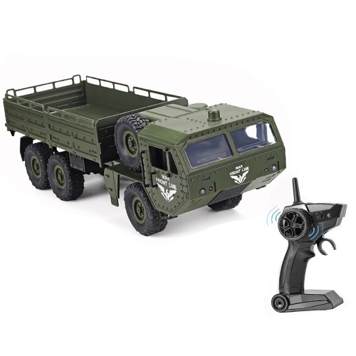 JJRC Q75 RC Military Truck 6WD 2.4GHz Army Truck Off-road Car