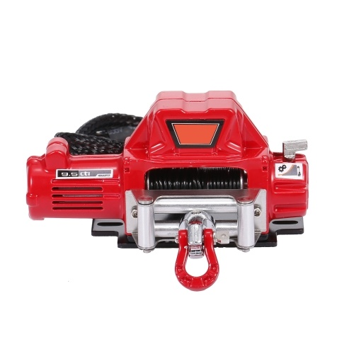 Compatible with 1/10 RC Car Automatic Winch RC Winch Wireless RC Car Decoration Simulated Accessories Image
