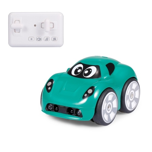 2.4G Mini Car Object Avoidance Follow Mode Track Drive Sound Effects 360 Degree Rotation Remote Control Car Image