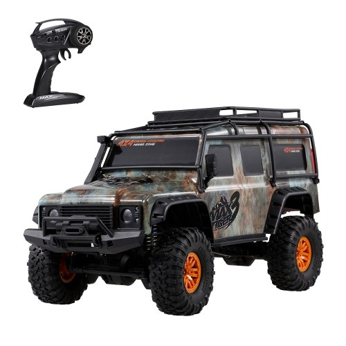 HB-ZP1002 2.4G 4WD 1:10 RC Car Large Size Racing Vehicle RC Crawler Off-Road Truck Image