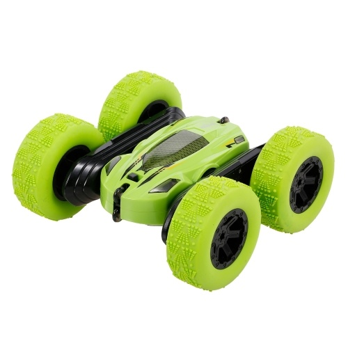 Ametoys RC Stunt Car 4WD 2.4Ghz Remote Control Car Double Sided Rotating Vehicles 360° Rotation Toy Car