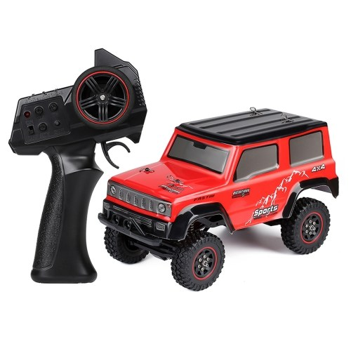 AUSTAR AX-8802  2.4G 1/18 Rock Crawler 4WD 20km/h All Terrain Off-Road Truck with LED Lights Image