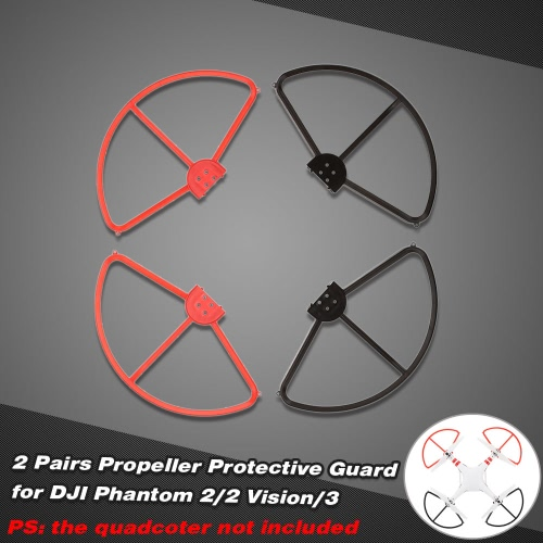 2 Pairs Propeller Protective Guard for DJI Phantom 2/2 Vision/3 RC Quadcopter