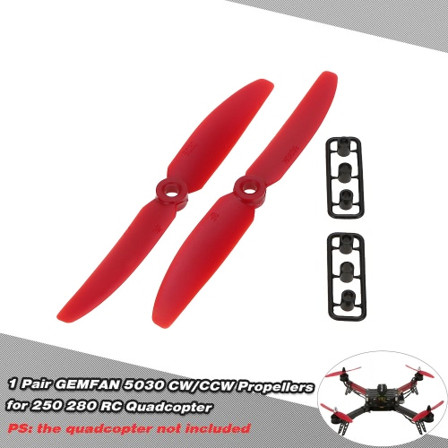 1 Pair GEMFAN 5030 CW/CCW Propellers for QAV250 H250 280 RC Quadcopter