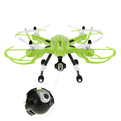 Original JJRC H26W 2.4G 4CH 6 axes Gyro RC Quadcopter Wifi FPV en temps réel transmission drone avec caméra 2.0MP HD