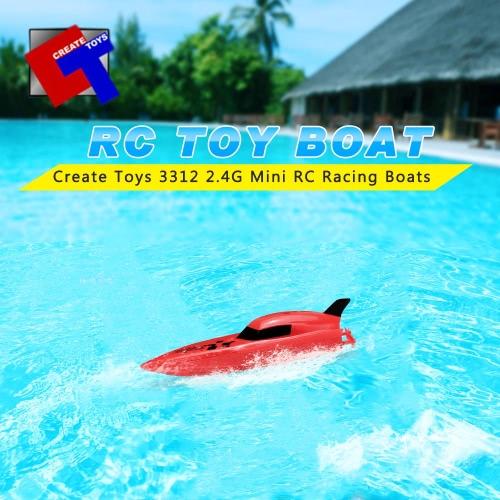 Original erstellen Spielzeug 3312 2,4 G 2-Kanal Mini RC Sport Boote