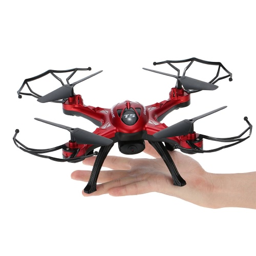 Original GoolRC T5C 2.4GHz 4CH 6-axis Gyro 2.0MP HD Camera RC Quadcopter with One Key Return CF Mode 360° Eversion Function