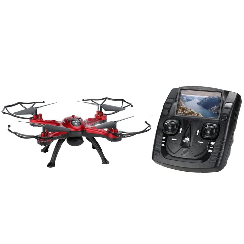 GoolRC T5G 5.8G FPV Drone RC Quadcopter - Red