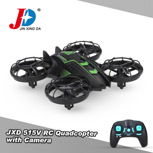 Oryginalny JXD 515V 2.4G 4CH 6-Axis 0.3MP kamera selfie Barometer Wzrost Trzymaj RC Quadcopter RTF Drone