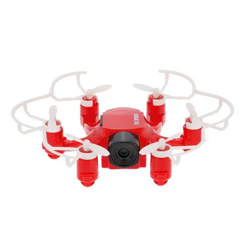 Оригинальный FQ777 126C 2.4GHz 4CH 6-осевой гироскоп 2-мегапиксельная камера Spider Drone RC Hexacopter RTF с CF-режимом 3D-флип Функция с одним ключом возврата