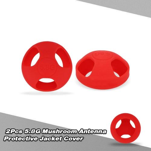 2Pcs 5.8G Mushroom Antenna Protective Jacket Cover for Fatshark Mushroom Antenna