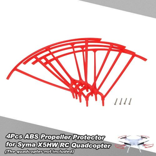 4 pezzi ABS Elica Protector per Syma X5H X5HC X5HW RC Quadcopter