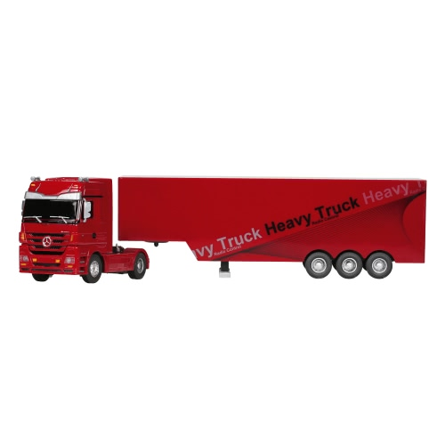 RUICHUANG QY1101 1/32 2.4G Heavy Truck - Red
