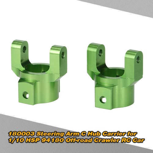 180003(18006) Steering Arm C Hub Carrier for 1/10 HSP 94180 Off-road Crawler RC Car