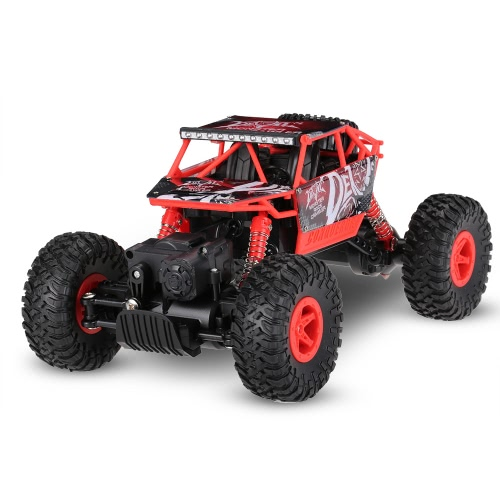 Oryginalny JJRC NO.Q20 1/18 2.4G 4WD RTR Rock Crawler RC Car