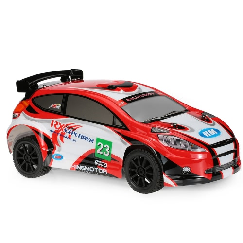 KM-Explorer RX II 1/7 2.4G 4WD elétrico Brushless High Speed ​​RC Rally Racing Car