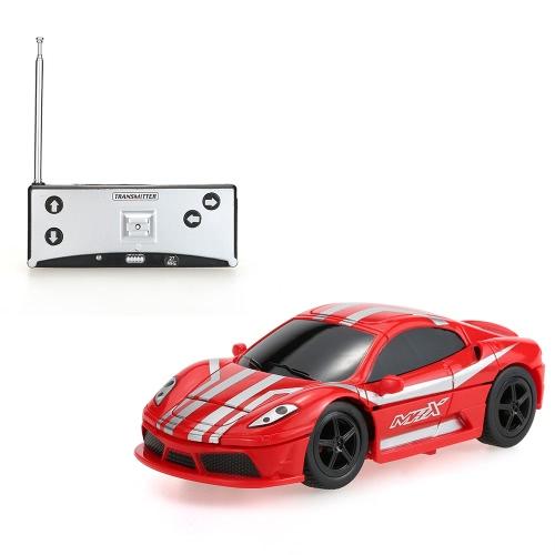 Crear Juguetes NO.8010 Mini Flashing 2-en-1 Robot eléctrico RC coche 40MHz