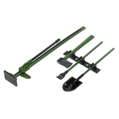 4Pcs AUSTAR 10008A RC Decoration Tools Set Kit RC Accessories for 1:10 RC Rock Crawler