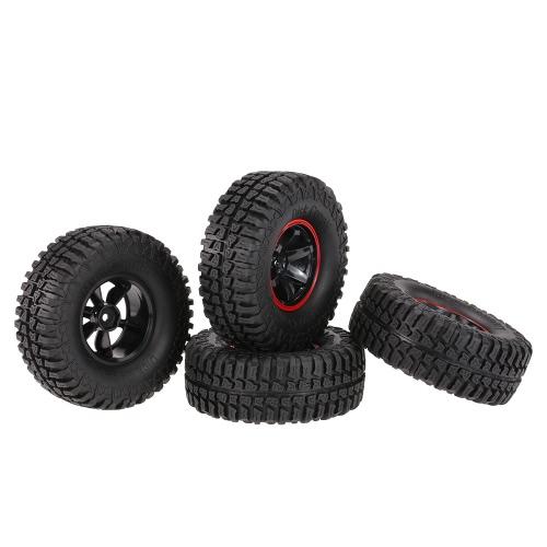 4Pcs AUSTAR AX-3020B 1,9 Zoll 103mm Maßstab 1:10 Reifen mit Felge für 1/10 D90 SCX10 CC01 RC Rock Crawler