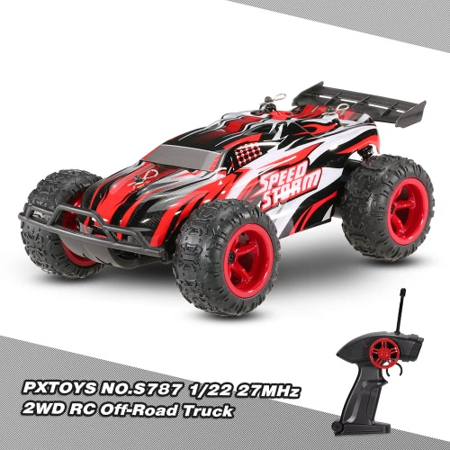 PXTOYS NO.S797 1/22 27MHz 2WD 20km / h Electric RTR Off-Road Buggy Speed ​​Racing RC Car
