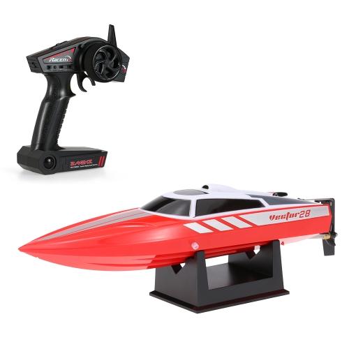 Volantex Vector28 795-1 2.4GHz Spazzolato da 30 km / h di alta velocità RTR RC Racing Boat