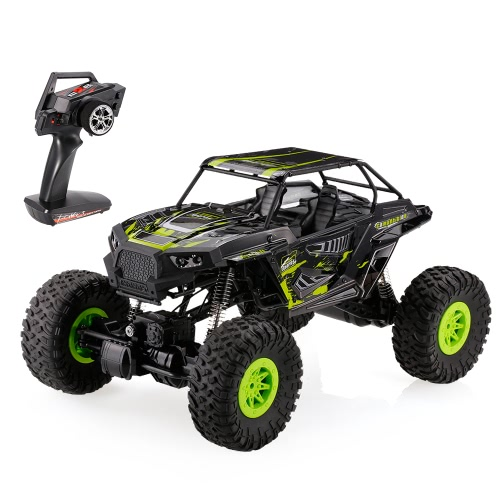 Original WLtoys 10428-E 1/10 2.4G 4WD Electric Brushed Crawler RTR RC Car