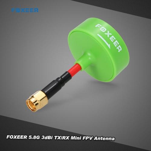 Original Foxeer 5.8G 3dBi TX / RX RHCP Omni Mini FPV Antena RP-SMA para GoolRC 210 QAV210 QAV250 Racer 250 RC FPV Racing Drone Quadcopter