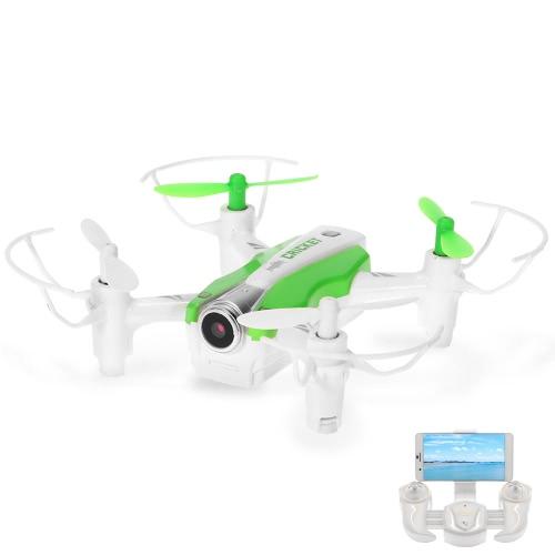 Origine Cheerson CX-17 CRICKET 0.3MP caméra Wifi FPV Drone 2.4G 4CH 6-Axis Gyro RC Quadcopter G-Sensor selfie RTF