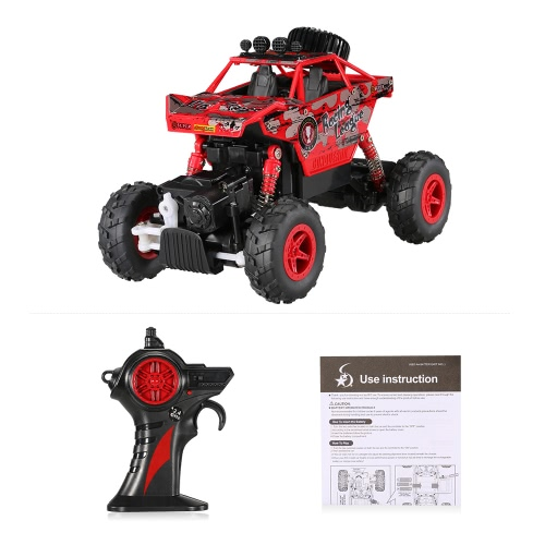 CREATIVE DOUBLE STAR 1150 1/20 2.4G 4WD RTR King Turned Climb Off-road Rock Crawler RC Car Image