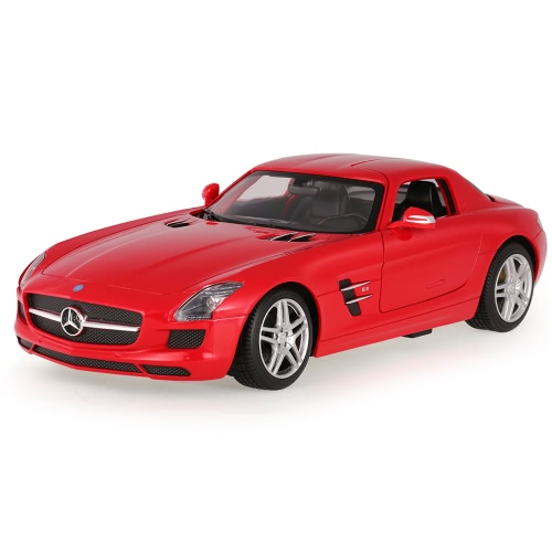 RASTAR 47600 27MHz 1/14 Mercedes-Benz SLS AMG RC Super Sports Car Simulation Model with Retractable Door