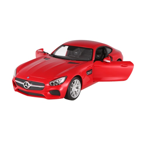 RASTAR 74000 27MHz 1/14 Mercedes-Benz AMG GT RC Super Sports Car Simulation Model with Remote Control Door