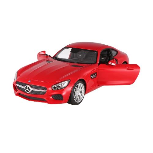 Original RASTAR 74000 27MHz 1/14 Mercedes-Benz AMG GT RC Super Sports Car Simulation Model with Remote Control Door