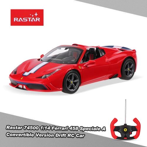 Rastar 74500 1/14 Ferrari 458 Speciale A Convertible Version Drift RC Car