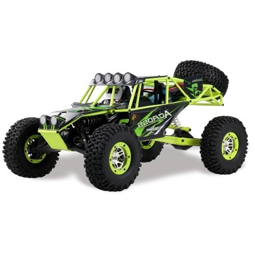 Wltoys 1/10 2.4G 4WD 30 km / h Coche de alta velocidad RC Coche todoterreno RC Rock Crawler Camión RC de cross country