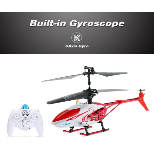 Qun Yi Toys QY66-X07E 3.5CH Infrared Control Letters Patterns LED Alloy RC Helicopter от Tomtop.com INT