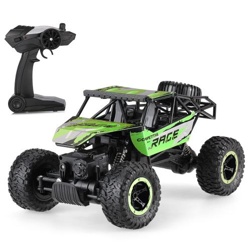 JJR/C Q15 1/14 2.4GHz 4WD Alloy RTR Rock Crawler Off-road Vehicle RC Car