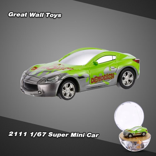 Image of GREAT WALL TOYS 2111 1/67 Super Mini RC Car with Magnifier Sphere Package Collection Toys Vehicle for Kids
