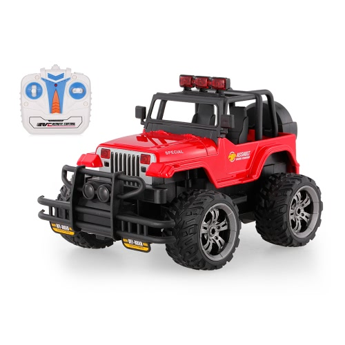 HUI NA TOYS 1359-7 Snow Leopard 2.4G 1/20 Controle Remoto Buggy Off-Road Cross-Country com Música e Luz