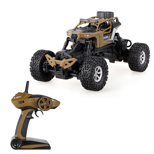 CRAZON 1/16 2.4G 4WD Double Steering Waterproof Rock Crawler Off-road Truck RTR RC Car
