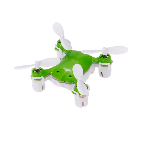 NANO.1 2.4G 4CH 6-осевой гироскоп Mini Quadcopter Micro Pocket Drone UFO RTF Безголовый режим 3D Flip