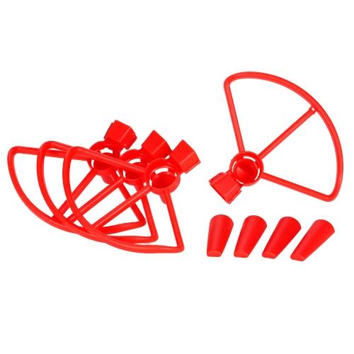 Protezione per elica e kit di ingranaggi estesa per DJI Spark RC Drone