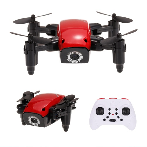 Оригинальная S9W 2.4G 4CH 0.3MP камера WIFI FPV Mini Drone Altitude Hold Планирование полета Складной RC Quadcopter