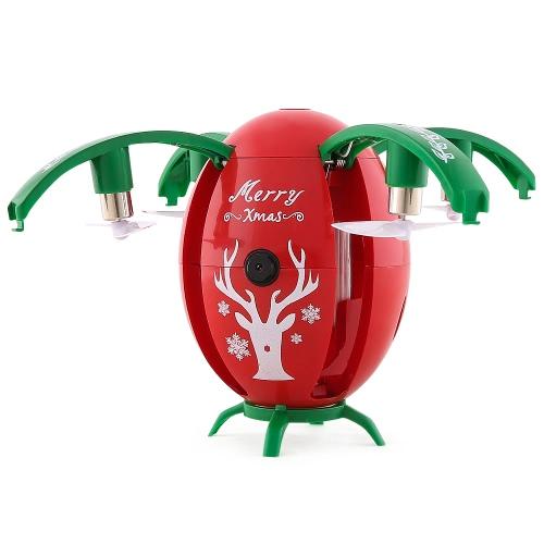 JJRC H66クリスマスギフトエッグドローンWifi FPV RCクアドコプター -  RTF