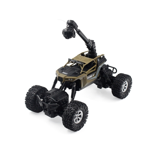 CRAZON 171604B 2.4GHZ 1:16 WIFI FPV 0.3MP Camera 4WD/2WD Splash Waterproof RTR RC Crawler Off-road Car
