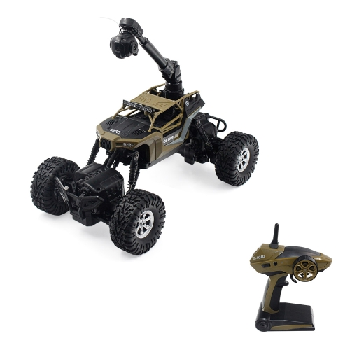 CRAZON 171604B 2.4GHZ 1:16 WIFI FPV 0.3MP Kamera 4WD / 2WD Splash wasserdicht RTR RC Crawler Off-Road Auto