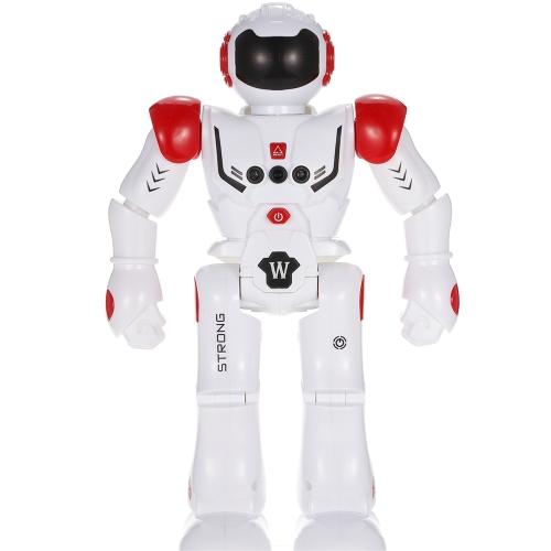 HONGTUO HT9930-1 Интеллектуальное программирование Gothure Sensing Robot RC Toy Gift для детей Детское развлечение