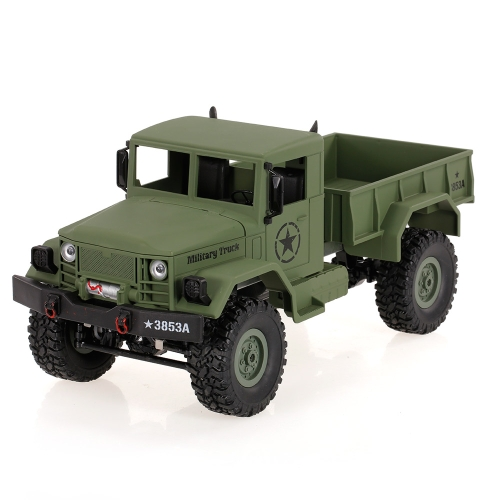 WPL B-1 1/16 2.4G 4WD Off-Road RC Military Truck Rock Crawler Army Car