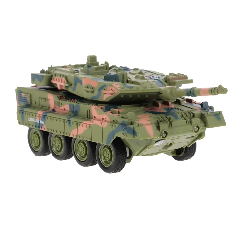 Create Toys 8020 LEOPARD 2A7 Ferngesteuerter Kampfpanzer für Kinder