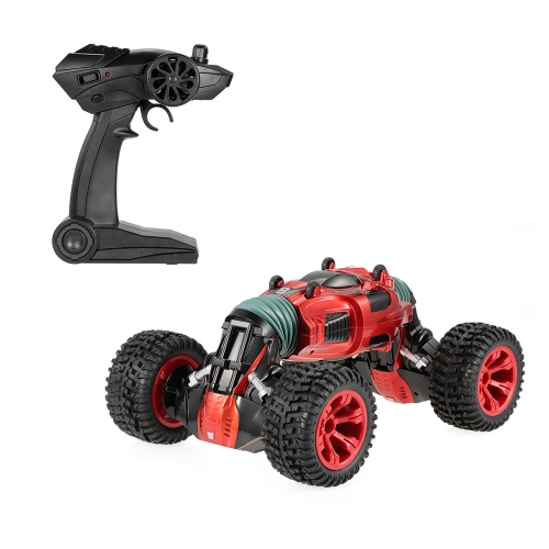 HAOJUN 8840 2.4G 4WD One Key Transform Double Size Stunt Car Electric RTR Crawler RC Car